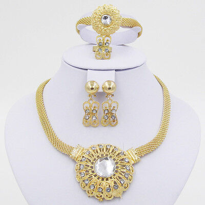 Cheap Sale Fashion Costume Necklace Earring Bracelet Ring Jewellery Set](Cheap Halo Costume)