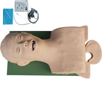 110v Lab Intubation Manikin Study Teaching Model Airway Management