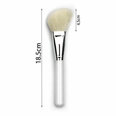 Oblique Head Goat Hair Makeup Brush Face Cheek Contour Cosmetic Powder Brushes Powder Goat Hair Makeup Brush