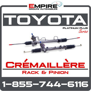 ►► Crémaillère || Rack and Pinion ► Toyota Highlander • Sequoia