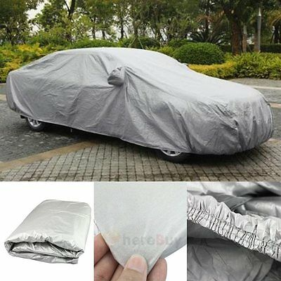 M Universal Medium Size M Full Car Cover Uv Protection Waterproof Breathable New