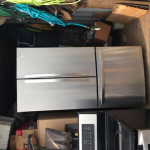 LG Stainless Steel Refrigerator - Priced to sell!