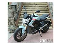 ZERO SRF 2020 PREMIUM 14.4kW, 6kW CHARGER, BLUE