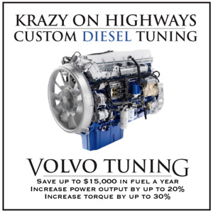 Krazy On Highways Custom Volvo DPF , EGR & UREA Delete Tuning