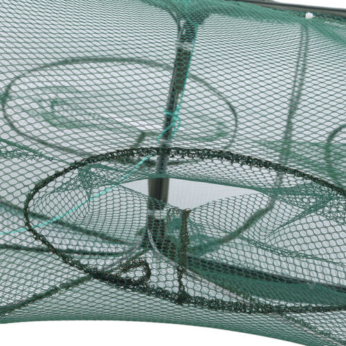 Magic Fishing Trap Netting Full Automatic Folding Shrimp Cage Fish Net KY