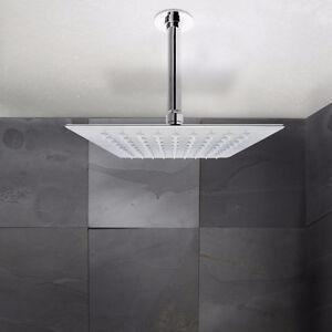 NEW INBOX Square shower heads: 3 models/ Têtes de douche carrées