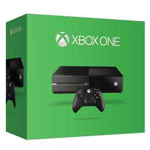 500gb Xbox One - with year of gold and games