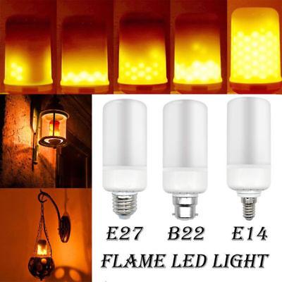 Flamme Fire Effect Glühbirne Weihnachtsdekor Lampe Warmweiß (Flimmern Glühbirnen)