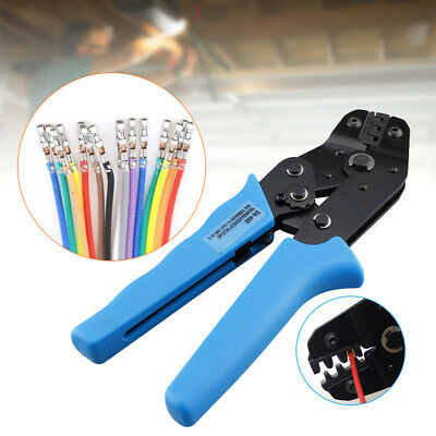 0.5-1.5mm Professional Crimp Plier Non-insulated Wire Terminal Connector Crimper