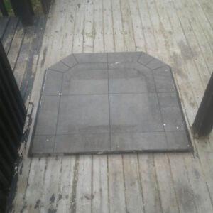 Floor for stove