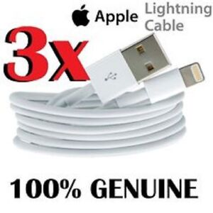 Original Apple 8 Pin Lightning Cable for iPhones, iPads and iPod