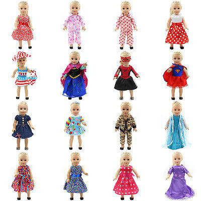 "Fits 18"" American Girl Madame Alexander Handmade fashion Doll Clothes dress"