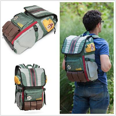 Star Wars Boba Fett Costume Backpack Laptop Bag School Bag Travel Outdoor Bag](Boba Fett Costume)
