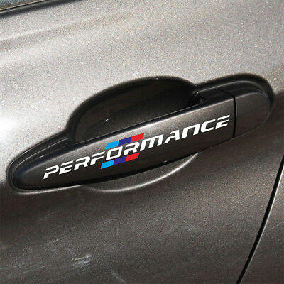 r5w, 4 stks/set Stickers Door Styling Auto BMW M perfomance