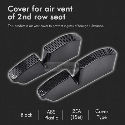 Air vent foreign substance Cover Second Row Seat 2EA for Kia 2018-19 Sportage QL