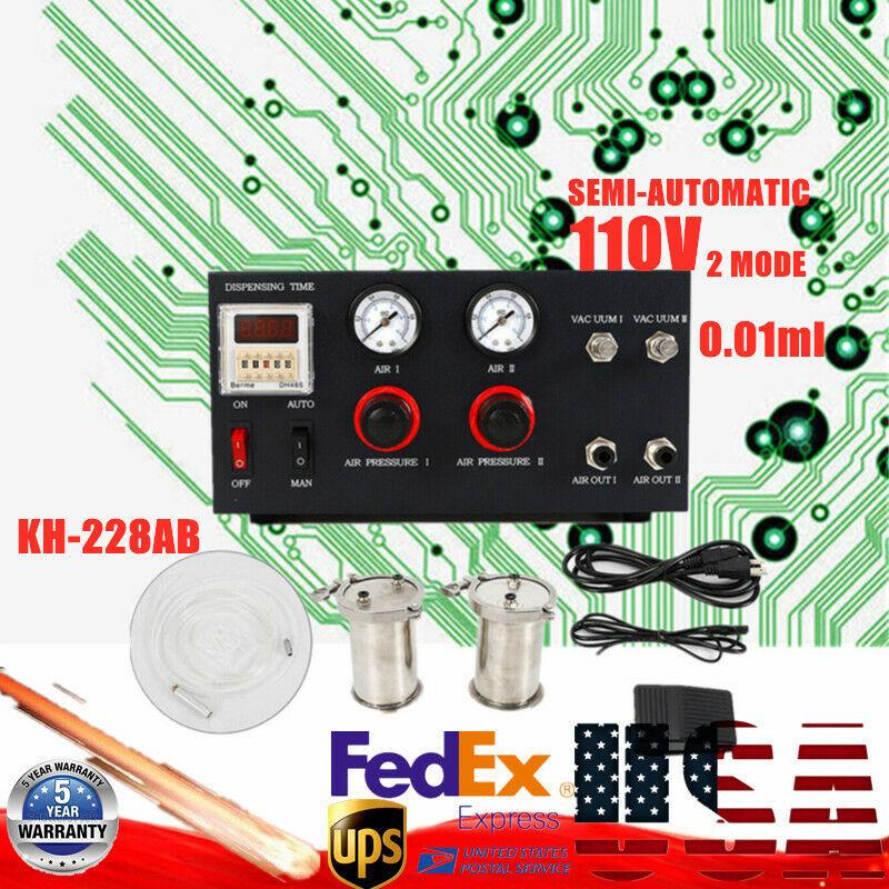Doming Epoxy Resin AB Mixing Solder Glue Dispensing Machine Dispenser Equipment