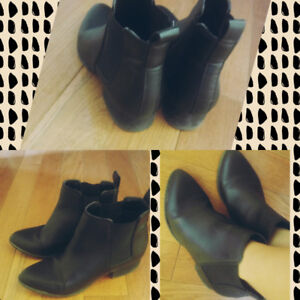 Leather Boots from the bay!!