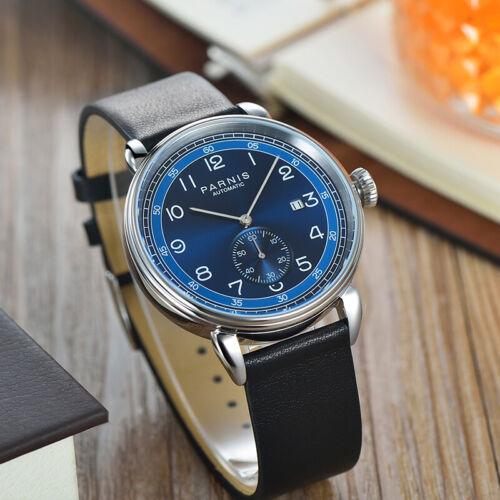 42mm Parnis Automatic Movement Mechanical Watch Men's Wristw