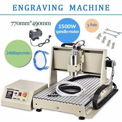 3 Axis Usb 1500w Vfd Cnc 6040 Router Engraving Machine Milling Carving Machine