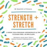 STRENGTH + STRETCH YOGA