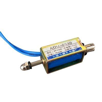 Dc 24v Push-pull Actuator Frame Type Electromagnet Solenoid Electric Magnet L6i7