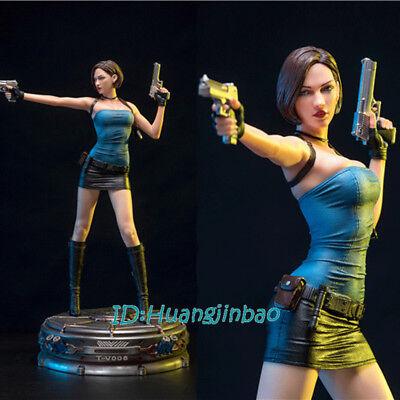 Resident Evil Jill Valentine 1/4 Scale Painted Resin Model Statue 51.5cm/20.3''H