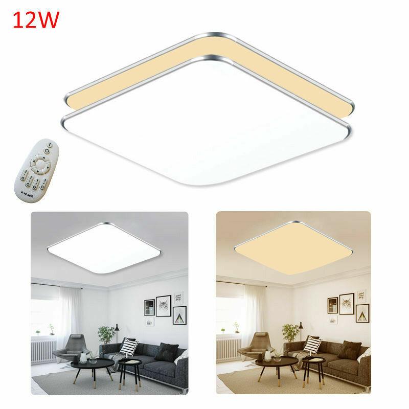12W Sensorlampe LED Deckenlampe Deckenleuchte Innenleuchte mit Bewegungsmelder Dimmbar