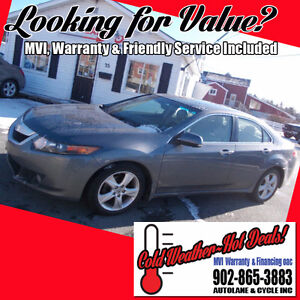 2009 Acura TSX Sedan SHARP CAR Smart BUY  $7995 Fun to Drive