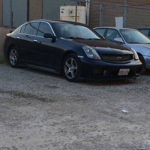 Sale or trade 2003 G35.