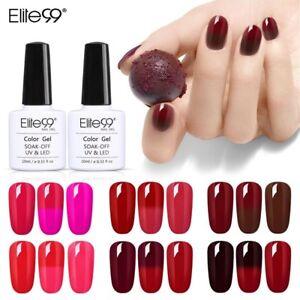 Elite99 Vernis-gel à ongles Température/Soleil NEW