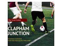 SPACES - Clapham Junction 5-a-side leagues!