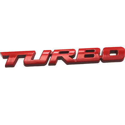 m5r, 3D Car Styling Sticker Metal TURBO Emblem AUTO