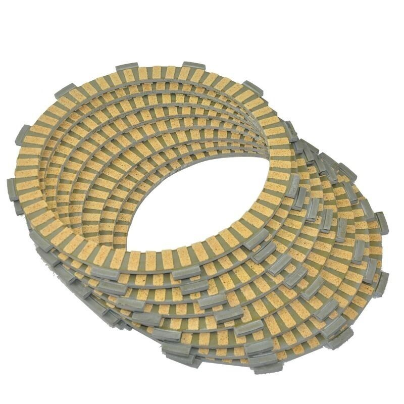 8 Pcs Clutch Plates Kit For Honda VT1300 CRA//CSA//CXAA//CTA VTX1300//1800 T//F//N//R//S