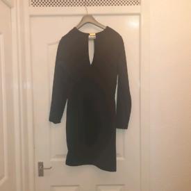 Kardashian Kollection Black cutout dress