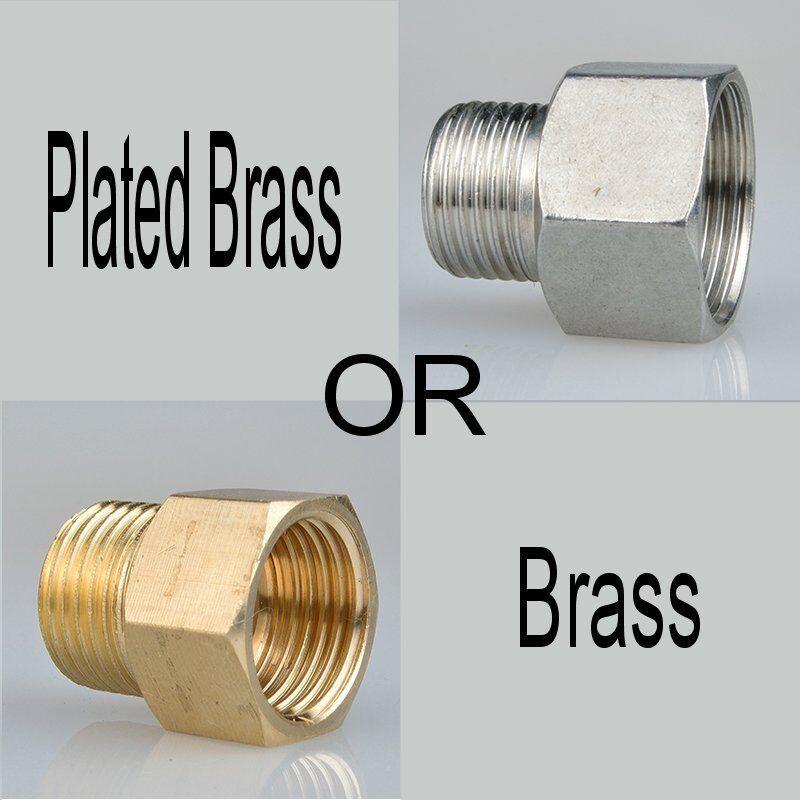 Metric Fitting M14 M14X1 M14X1.0 Male to M14X1.5 Female Brass Adapter  JM