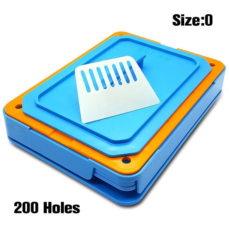 200 Holes Capsul Filler Size 0 Manual Capsul Filling Machine with Tamper Tool