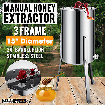 36 Frame Stainless Steel Honey Extractor Beekeeping Equipment Honeycomb Drum