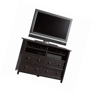 Sauder 409242 Edge Water Highboy Tv Stand For Tv S Up To 47 Estate