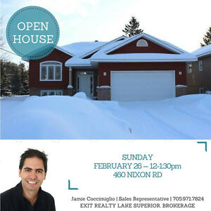 OPEN HOUSE! Sunday Feb 26th 12-1:30pm -- 460 Nixon Rd