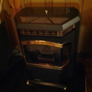 Harman wood pellet stove  model advance-2