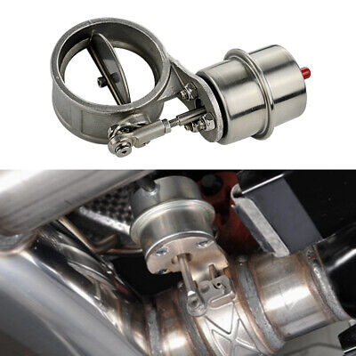Car Activated Exhaust Pipe Valve Boost 3in Closed Style Cutout Remote Controller