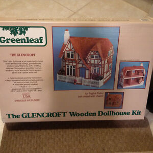 Greenleaf 'The Glencroft' Wooden Dollhouse Kit Edmonton Edmonton Area image 2