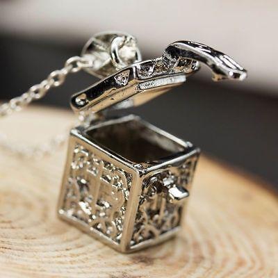 Elegant 925 Sterling Silver New Women Fashion Jewelry Gift Box Locket Pendant