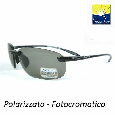 SERENGETI NUVOLA 7359 SHINY BLACK POLARIZZATO PESCA Sunglass Sole (Serengeti Nuvola Sunglasses)