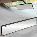 Universal Broadway 300MM Wide Flat Interior Clip On Rear View Clear Glass Mirror