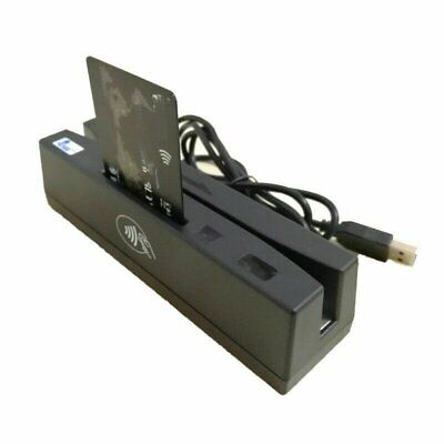 4-in-1 Magnetic Stripe Credit Card Emv Ic Chip Rfid Psam Reader Writer Yl160 New