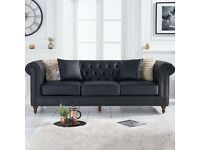 🖤 BRAND NEW PREMIUM AND LUXURY CHESTERFIELD 3+2 SEATER SOFA,🚚FREE DELIVERY, 💥CASH ON DELIVERY🖤