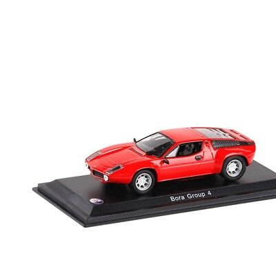 Leo Models 1:43 Maserati Bora Group 4 Red Diecast Model Car