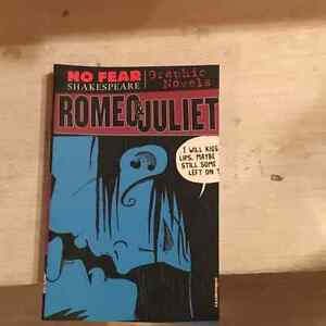 No fear Shakespeare Romeo and Juliet graphic novel.