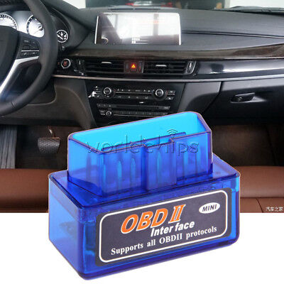 Bluetooth Mini ELM327 OBD2 II Auto Car OBD2 Diagnostic Interface Scanner Tool
